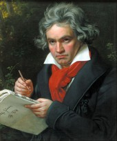 Ludwig Van Beethoven Quote Picture