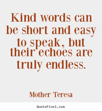 Design picture quotes about friendship - Kind words can be ...