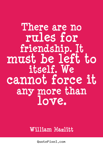 friendship rules quotes