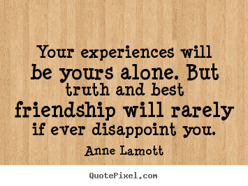 Quotes About Friendship Disappointment Awesome Anne Lamott Quotes  Quotepixel