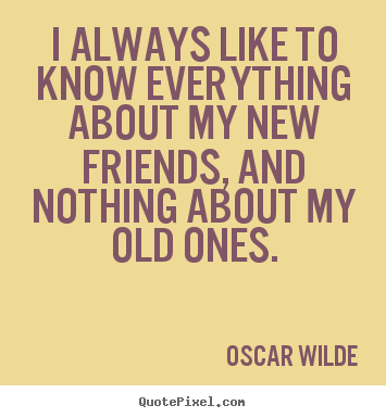 New Quotes About Friendship Cool Make Custom Picture Quotes About Friendship  I Always Like To