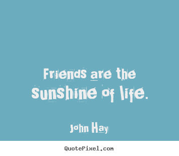 friendship the sunshine of life essay Importance of friends in our life essay for class 5, 6, 7, 8, 9, 10, 11 and 12 find  long and short essay on importance of friends in our life for children and.