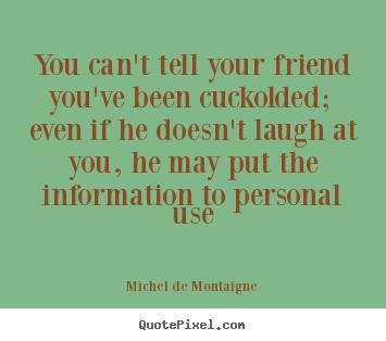 Michel de montaigne essays quotes about friendship