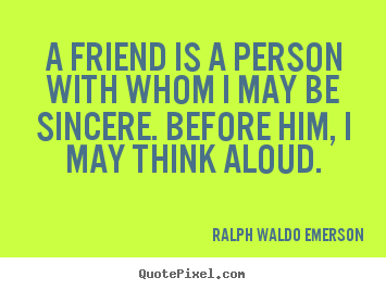 ralph waldo emerson friendship quotes