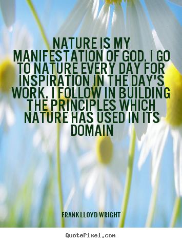 inspirational quotes nature god quotesgram