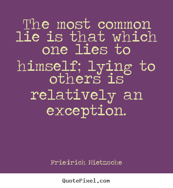 one lie quotes