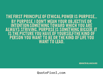 quotes about inspirational the first principle of
