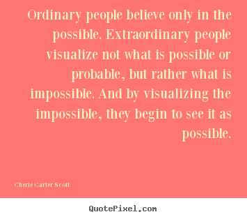 essay ordinary people