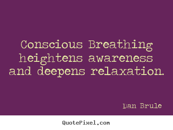 conscious breathing exercises