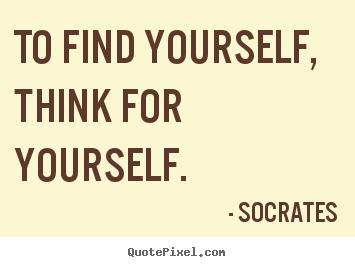 Saying of socrates