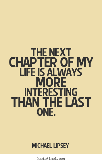 quotes for a new chapter in life