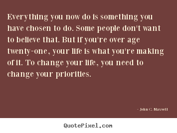 Make custom picture quotes about life - Everything you now do is something you have..