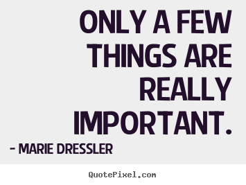 Important Life Quotes Impressive Quotes About Life  Only A Few Things Are Really Important.