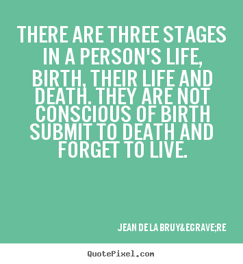 Eight Stages Of Person's Life (Western)
