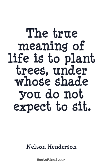 Plant Trees Under Whose Shade Quote : More life quotes love success friendship