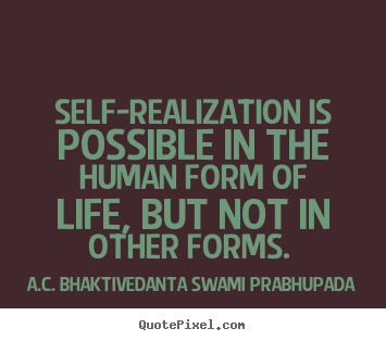 life realization quotes