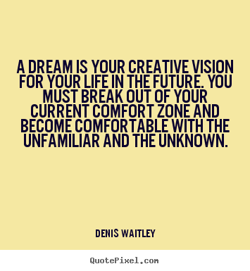 Make personalized picture quotes about life - A dream is your creative vision for your life in the..