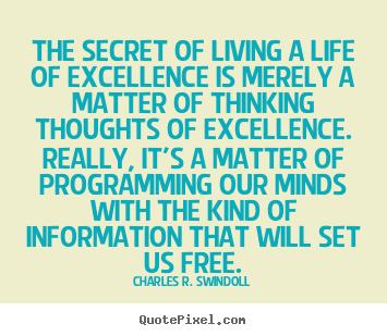 Charles Swindoll Attitude Quote Poster