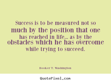 Quotes By Booker T Washington Quotepixel