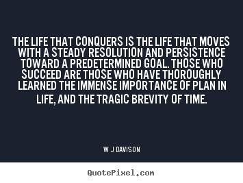 quotes by w j davison