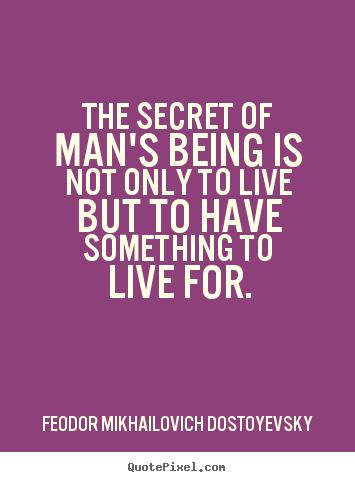 the secret of man