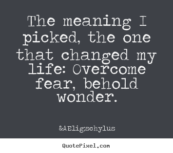 A fearful experience that change my life
