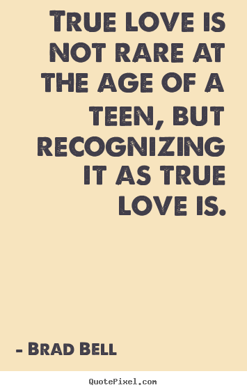 True Love Is Not Rare At The Age Of A