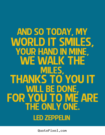 Led Zeppelin Quotes | Picture Quotes From Led Zeppelin Quotepixel
