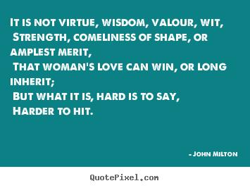 John Milton love quotes