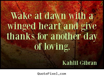 Image result for wake at dawn with a winged heart