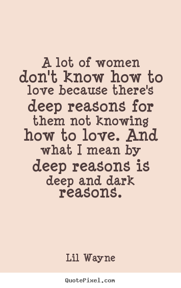 Deep quotes about love