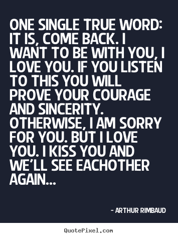 True love comes back quotes