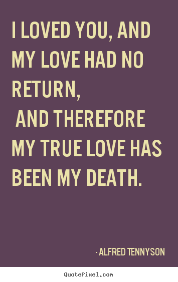 Quotes About Death And Love Amusing How To Make Picture Quotes About Love  I Loved You And My Love