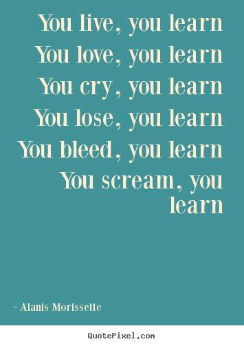Alanis Morissette - You Learn Lyrics and Free YouTube ...