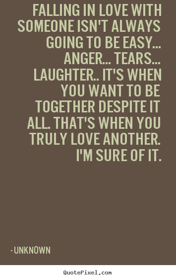 Quotes About Falling in Love with Someone