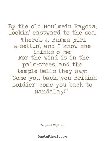 Rudyard Kipling love quotes