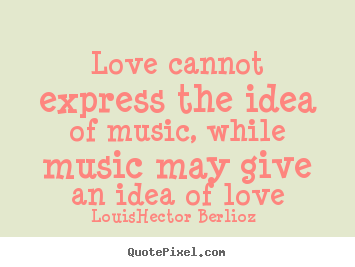essay about love of music Hi all please help me to correct this essay thank you so much music has become an indispensable part of people s' lives i'm sure that nobody can deny the.