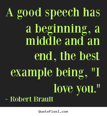 Good starting quotes for speeches