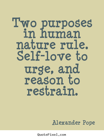 Quote About Human Nature To Love