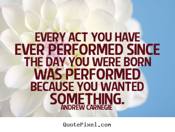 Quotes about motivational - Every act you have ever performed since the day..