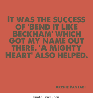 bend it like beckham quotes