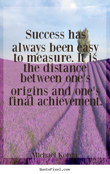 Success Quotes Success Has Always Been Easy To Measure It Is The
