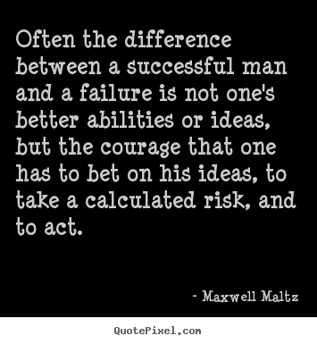 Success quotes - Often the difference between a successful..