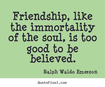 "ralph waldo emerson friendship essay Ralph waldo emerson analysis friendship – the essay is paragraph 13 of ralph waldo emerson's essay titled ""education"" contains a number of rhetorical."